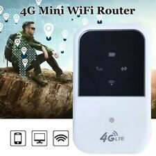 Portable 4G LTE Wifi Router Hotspot 150Mbps Unlocked Mobile Modem Supports F3Y6