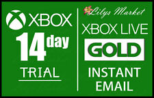 XBOX Live 14 Jours 2 Semaines Gold Trial Code Instant Dispatch-Lire description