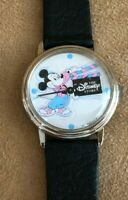 Disney Store Cast Member Vintage Mickey Mouse Watch Director employee 1980s