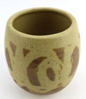 Vtg California Design West Stoneware Pottery Vase Bowl DW 225 Art Mid Century