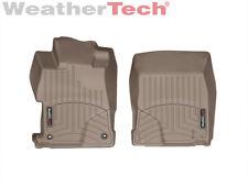 WeatherTech FloorLiner - Honda Civic Sedan - 2012-2013 - 1st Row - Tan