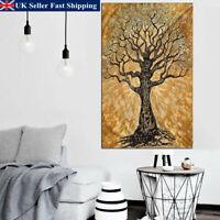 Indian Mandala Tree Wall Hanging Tapestry Bedspread Throw Mat Dorm Cover Decor