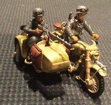 King and country german  WW2 motorcycle with sidecar. ws006