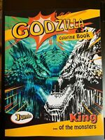 GODZILLA COLORING BOOK KING OF THE MONSTERS NEW 2019 KIDS ADULTS TEENS