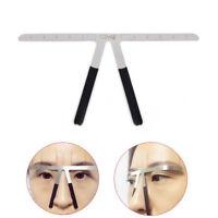 Permanent Makeup Eyebrow Tatoo Shaper Template Stencil Ruler Microblading Mold!!