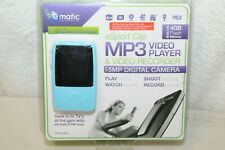 Ematic eSport Clip MP3 Video Player with Video Recorder EMS004BU