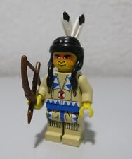 Indian Tan Shirt War Paint cowboys Western Lego Minifigure Mini Fig Minifig