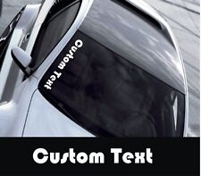 Custom Text  Any Text ANY COLOUR  Car/Window Vinyl Sticker/Decal - Large Size