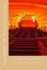 Technical Guide Lines : Teaching Technical Theatre to Your Acting Student by...