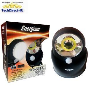Energizer Professional Cordless Portable Utility work Light COB Motion Sensor