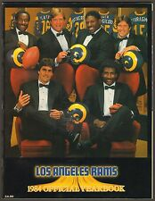 1984 LOS ANGELES RAMS NFL FOOTBALL OFFICIAL YEARBOOK