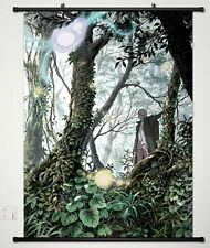 Anime Mushishi Ginko Manga Home Decor Japanese Poster Wall Scroll New 003
