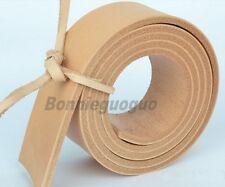 Natural Cowhide Strip Belt Blank Leather veg-tan 4CM Wide/130CM Long