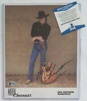 MARK CHESNUTT SIGNED PHOTO BECKETT BAS COA AUTOGRAPHED COUNTRY MUSIC SINGER RARE
