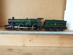 Hornby R.759 Hall Class 4-6-0 Loco GWR Green Albert Hall 4983 'boxed'