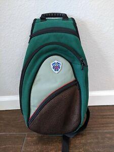 Nintendo The Legend of Zelda Wii System Backpack Sling Carrying Bag 2006 Green