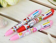 Sanrio Hello Kitty 6 Color Ball Point Pen(0.7mm) - 3 Piece
