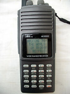 AOR AR 8000 1000 Channel All Mode Scanner boxed with manual & 2 antennas