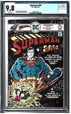 SUPERMAN #300 CGC 9.8 (6/76) DC Comics white pages