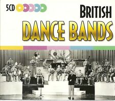 BRITISH DANCE BANDS - 5 CD BOX SET, SOFT LIGHTS & SWEET MUSIC + MANY MORE