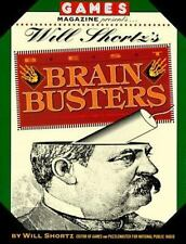 Games Magazine Presents Will Shortz's Best Brain Busters (Other)