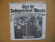 "HONEYBUS Girl Of Independent Means / How Long 45 7"" single 1968 Sweden mint-"