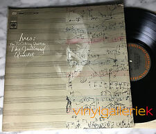CHARLES IVES TWO STRING QUARTETS JULLIARD QUARTET COLUMBIA MS 7027 VINTAGE Lp