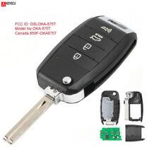 Flip Remote Car Key Fob 3+1 Button 433MHz for Kia Soul 2014-2017 FCC:OSLOKA-875T