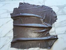 LEDER TIP 32797-BC, Lederreste, 1 Lederhaut, kakaobraun nappa transfert