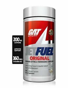GAT JETFUEL Original Fat Burner 144 Oil-Infused Caps 💥Weight Loss Fat Burner💥