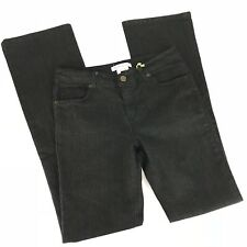 """BCBGeneration Womens Skinny Boot Cut Jeans Size 8 Large Dark Wash """"Nora"""" NWT"""