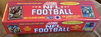 1990 Score Football Factory Sealed Complete Set, 665 Cards