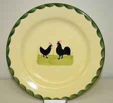 Zeller Keramik Teller flach Speiseteller25 cm Hahn und Henne