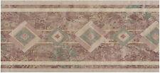 SOUTHWESTERN STYLED DIAMOND PATTERN ABSTRACT BACKROUND Wallpaper bordeR Decor