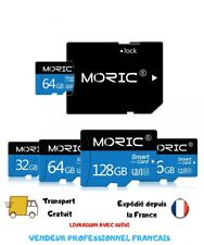Carte Mémoire Micro SD 8GB 16GB 32GB 64GB 128GB haute vitesse class10+adaptateur