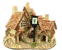 David Winter Cottages Green Dragon Pub Original Box & COA Near Perfect Condition
