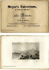 Meyer's Universum: IV. Bd., IX. Lieferung. Mit 4 Stahlstichtafeln von 1837