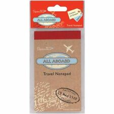 Mini Travel Notepad - All Aboard Papermania 32 sheets 16 designs Notebook Gift