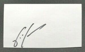 JERMAINE JONES MLS New England Revolution USA Autographed Signed 3x5 Index Card