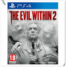 PS4 The Evil Within 2 / 心魔2 恶灵附身2 SONY Bethesda Horror Action Games