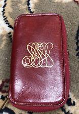 Antique Vintage Prince Gardner Soft Zip Up Key Case Holder