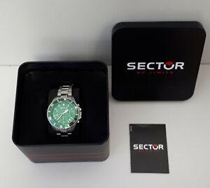 Sector Montre Homme 3273661006 Vert argenté /EB04