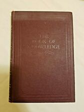 """The Book Of Knowledge Children""""s Encyclopedia 1956 Vol. 5 Magic Carpet Edition"""