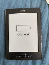 Amazon Kindle 4th Generation (D01100), Wi-Fi, 6 inch Ebook Reader - Black