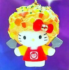 Hello Kitty X Osaka Okonomiyaki Chef Swarovski Elements Crystal Japan Charm
