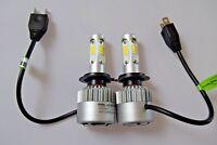 VW TRANSPORTER T5 2003-14 Twin 2x H7 Kit Car LED Headlight Bulbs PURE WHITE