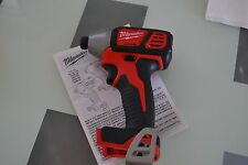 "New M18 Milwaukee 18v 2656-20 1/4"" Hex Impact Driver Use 18 volt 48-11-1815 1820"