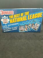 "1990 Donruss Sealed ""The Best Of The National League"" Baseball Trading Card Set"