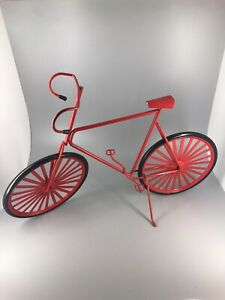 Decorative Red 3-D Bicycle.  22C