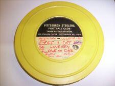 1975 Vintage Projector Film, Pittsburgh Steelers Football - 16mm , LINEMEN